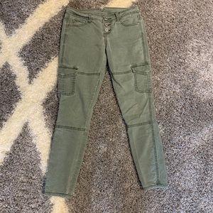 Vanilla star skinny jeans green size 3